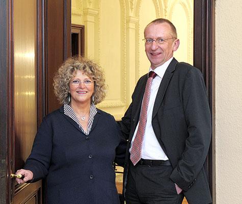 Elizabeth und Bernd Grotebrune